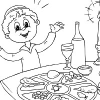 passover coloring pages | Coloring Page for kids