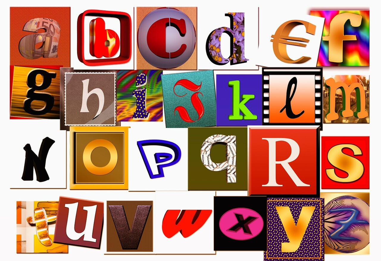 Create An Alphabet Collage In 5 Easy Steps Early