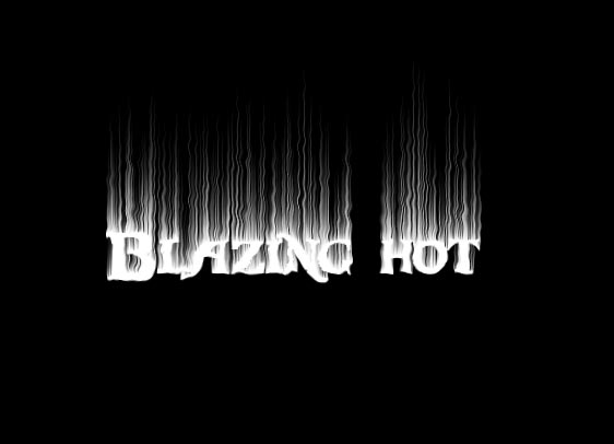 Flaming Text Tutorial Photoshop