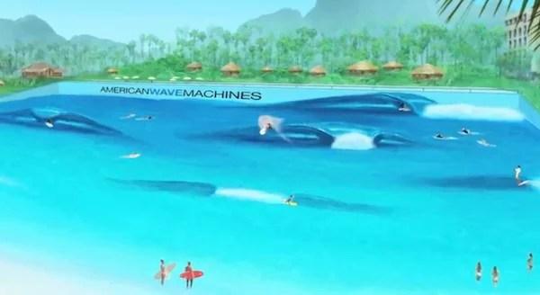 AWM Surf Pool Technological Breakthroughs for Surf Parks