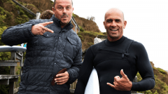 Greg and Kelly Slater