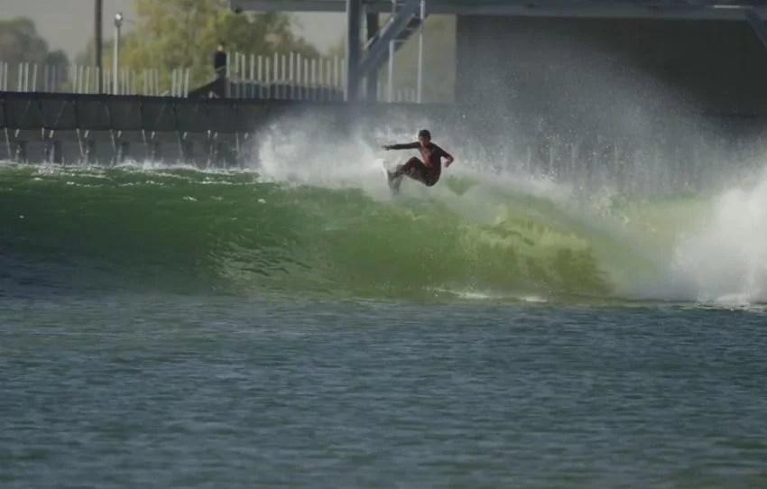 Kanoa Igarashi Floater | Kelly Slater Wave Company | Surf Park Central