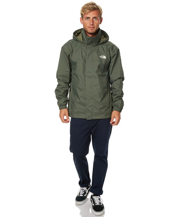 The North Face Resolve 2 Mens Jacket - Thyme | SurfStitch