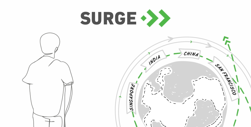 Surge applications are now open all year round