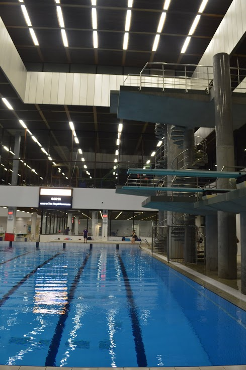 The CommonWealth Diving Pool.