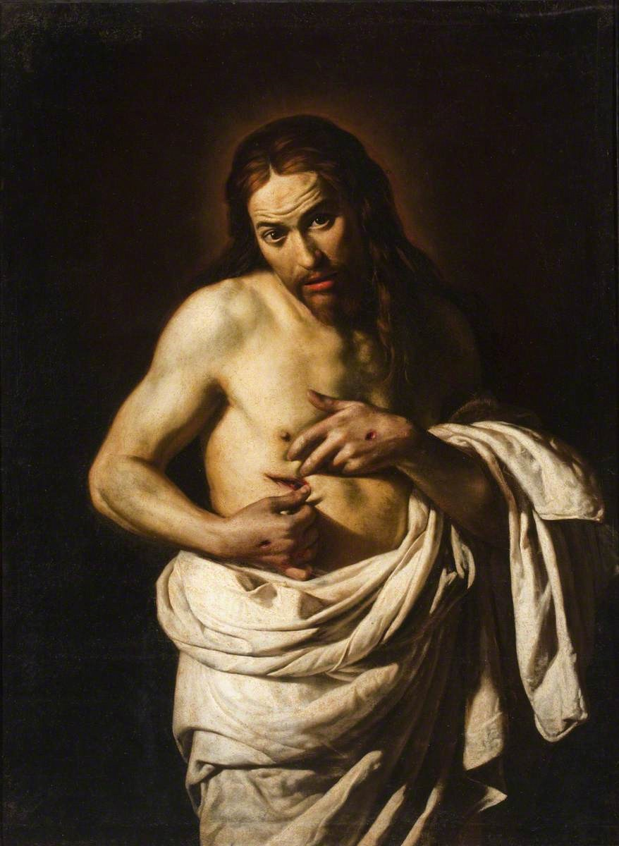 Fig. 7 – Giacomo Galli, Christ Displaying his Wounds (c.1630). Perth and Kinross Council.