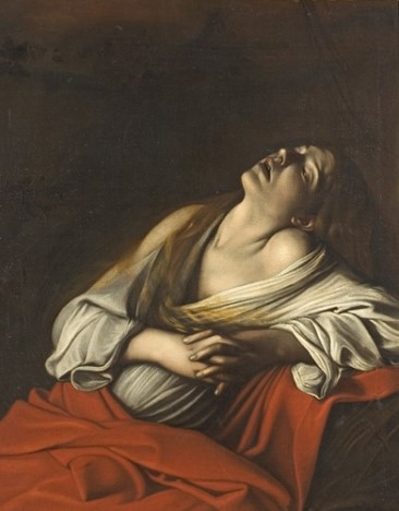 Fig. 8 – Michelangelo Merisi de Caravaggio, Mary Magdalen in Ecstasy (1606). Wikimedia Commons.