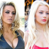 Courtney Stodden Plastic Surgery Before After, Breast Implants