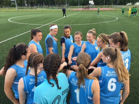 Hougton Womens Team with SurgeSoccer