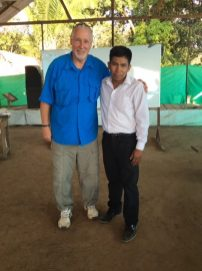 This young man has a desire to be a youth pastor to the Shipibo young people in the region.