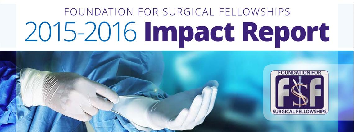 FSF 2015-2016  Impact Report