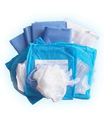 Kit Implantologie Surgi eco stérile (Carton de 12 kits)