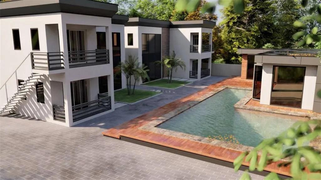 Bluewingsstraat - Super-de-luxe-appartementen te Morgenstond - Surgoed Makelaardij NV - Paramaribo, Suriname