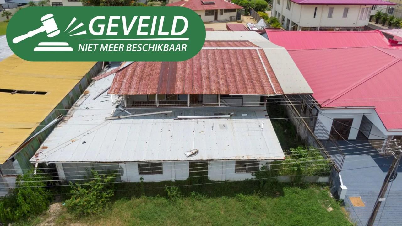 Dr. Axwijkstraat perceel 593 - Courant goed gelegen terrein te Rainville - Surgoed Makelaardij NV - Paramaribo, Suriname