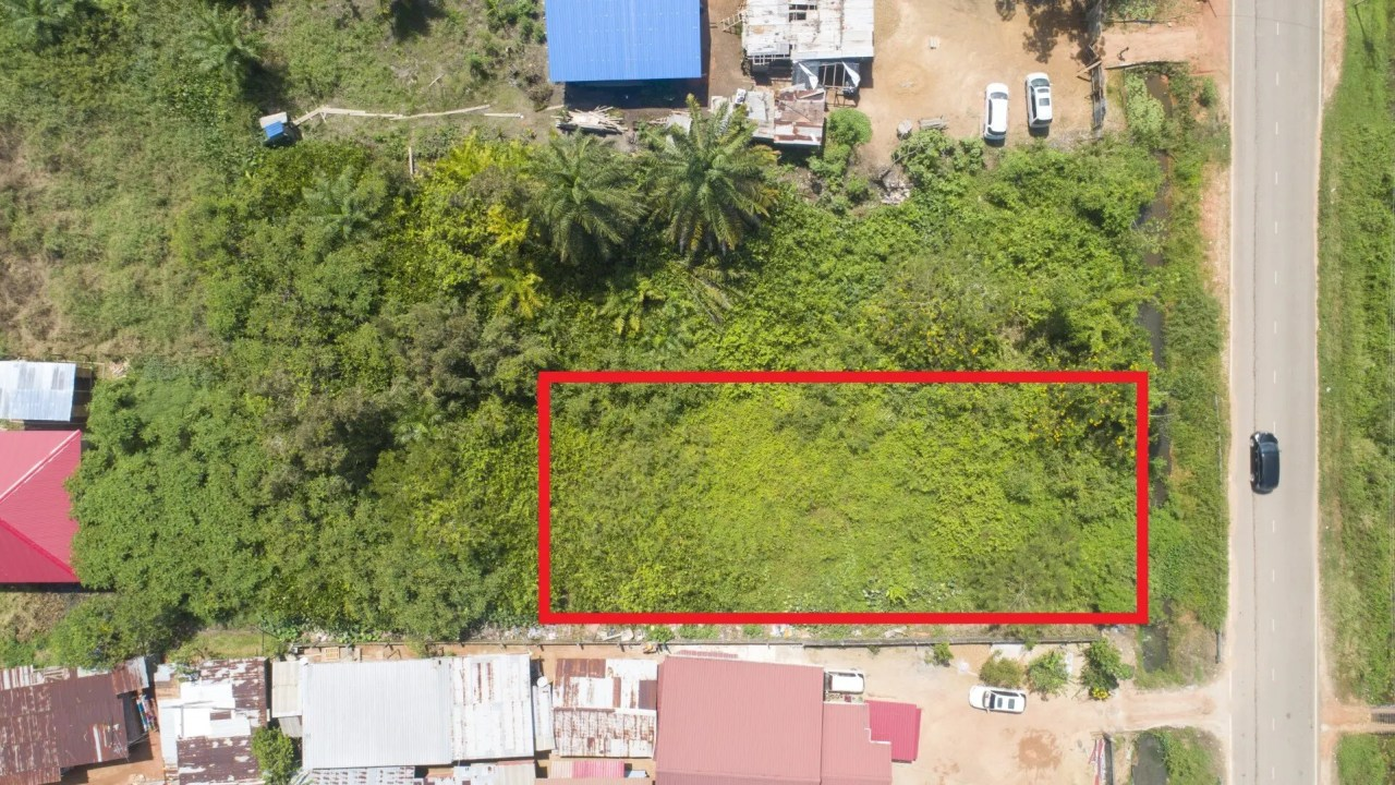 Nieuwestraat Perceel 396, Albina - Goed gelegen perceel voor zakelijk-/ woonactiviteiten. - Surgoed Makelaardij NV - Paramaribo, Suriname