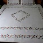 Surj Kashmiri Magic Hand Embroidered Bedsheet Surj