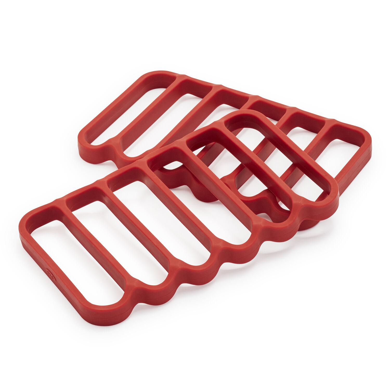 oxo good grips silicone roasting rack set of 2