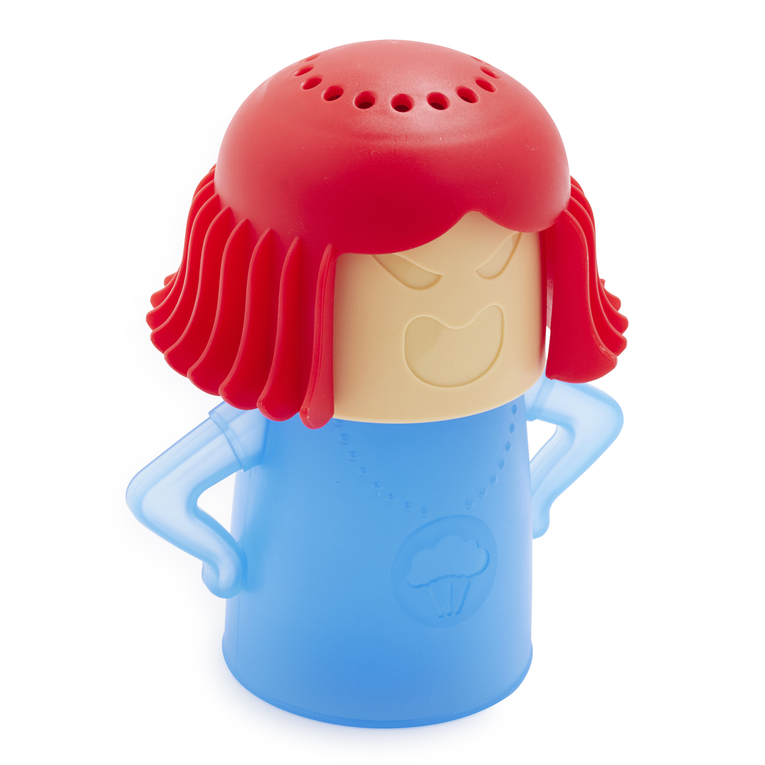 angry mama microwave cleaner sur la table