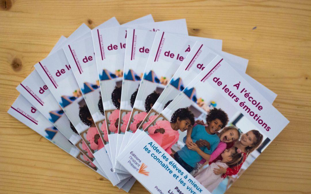 Notre partenaire La Lab School lance une initiative : le livre «A l'école de leurs émotions»