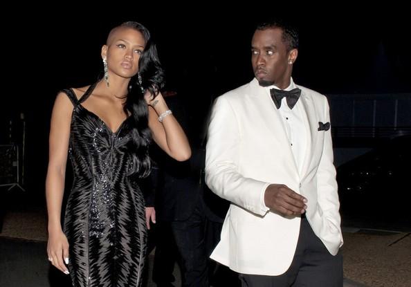 Cassie et Diddy en soirée