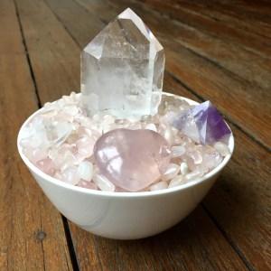Crystal Healing Bowl (Round)