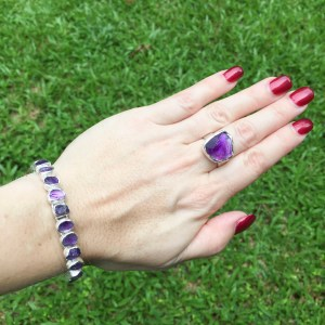 Amethyst-raw-cut-bracelet