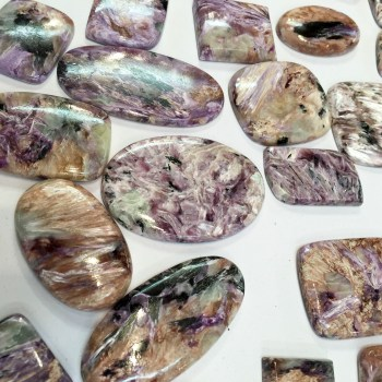 Russian-Charoite-Cabouchons