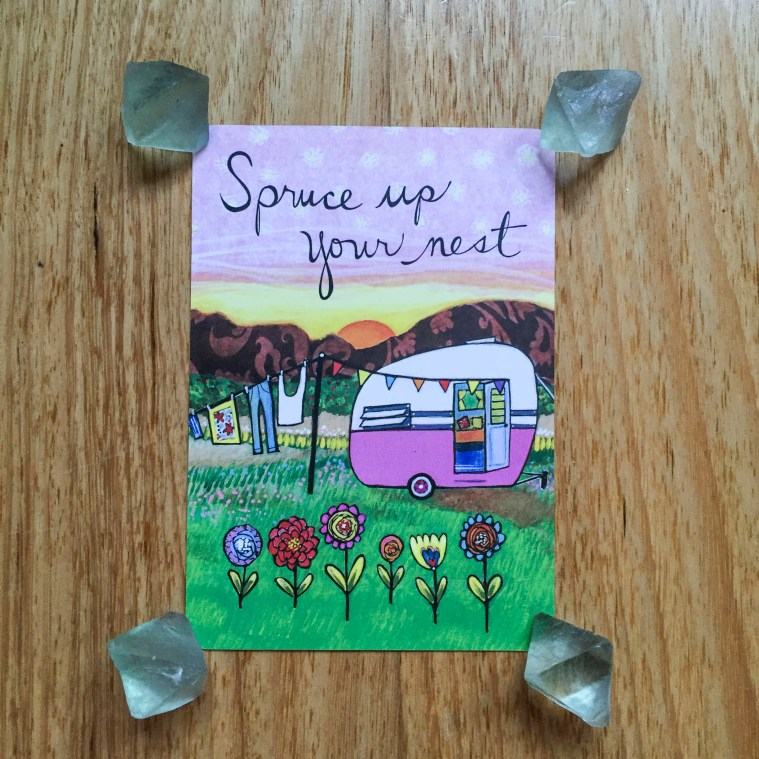 Card a day - Spruce up