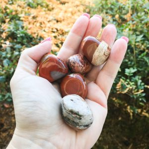 Red Jasper tumble stones