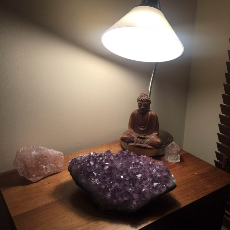 Crystals to overcome insomnia