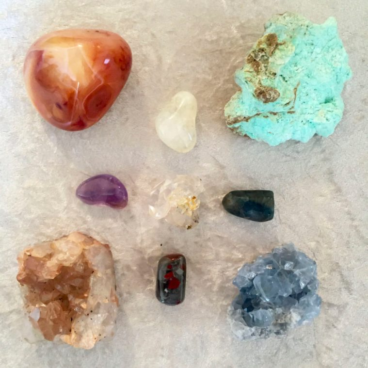19 crystals to stimulate and enhance your creativity