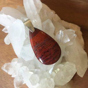 Snakeskin Jasper pendant
