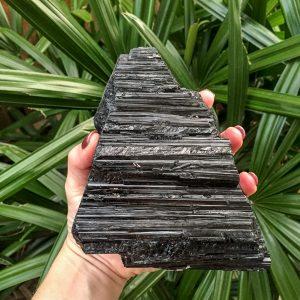Black Tourmaline raw specimen