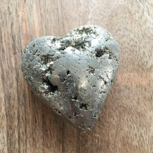 pyrite heart for sale