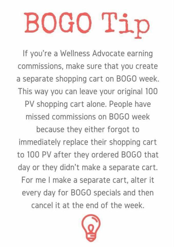 How to place a BOGO if you're an existing doTERRA customer or wellness advocate - with Melanie Surplice