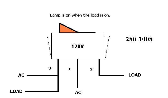 Lighted Rocker Switch Wiring Ac - Wiring Diagram All Data on illuminated rocker switch, illuminated toggle switch wiring, illuminated switch schematic, illuminated switch transmission, illuminated switch circuit,