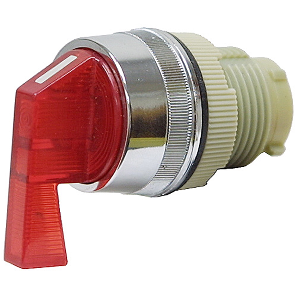 2 Position Momentary Red Lever Rotary Switch Operator