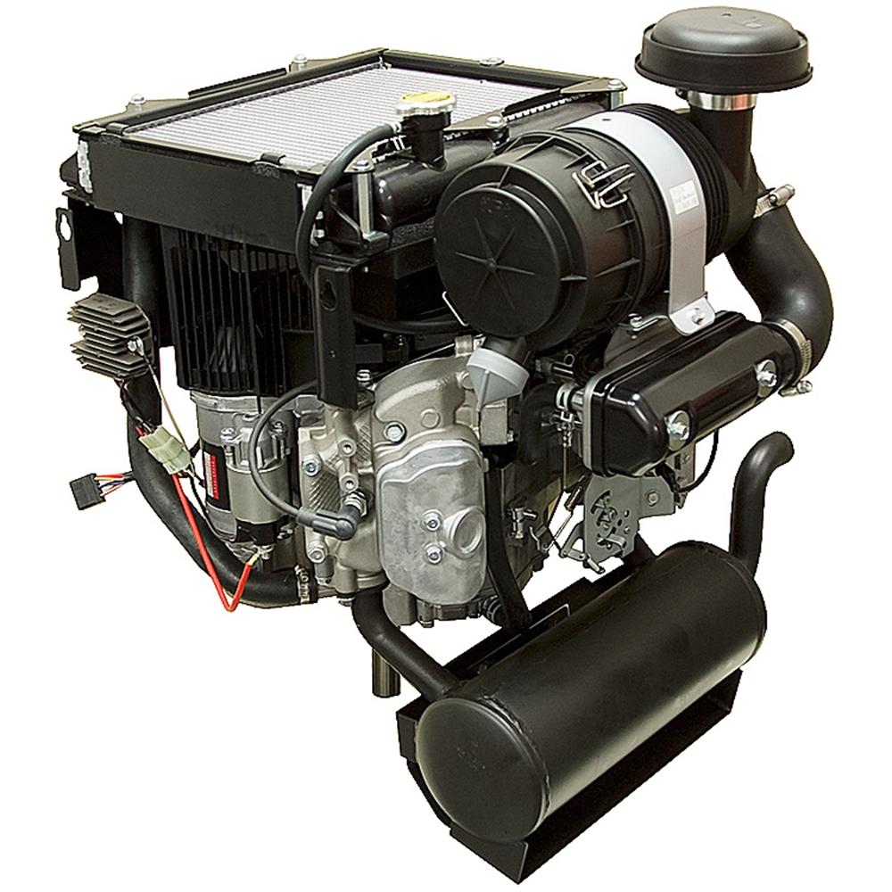 26 Hp Kawasaki Liquid Cooled Engine Fd731v Bs07