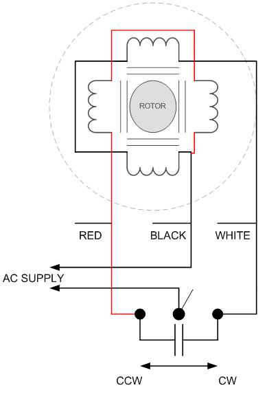 dayton electric motor cw ccw wiring diagram  2001 ford