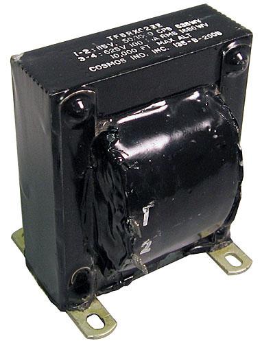 135-B-2005 High Voltage Transformer 115V-625V 100mA 0.