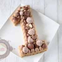 Number cake au chocolat et gianduja