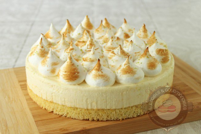 gateau meringue - gateau citron - surprises et gourmandises