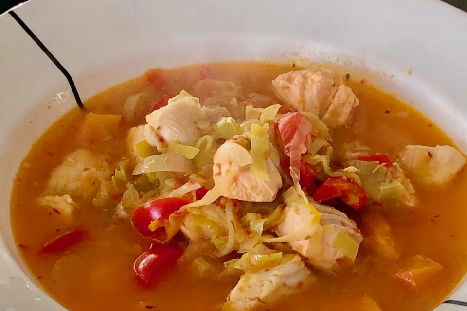 fish soup for the fall