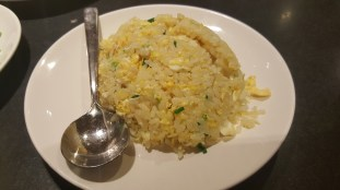 Egg and rice.