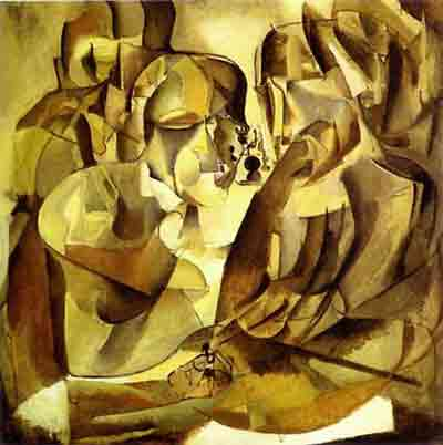 Portrait of chess players 1911 by Marcel Duchamp