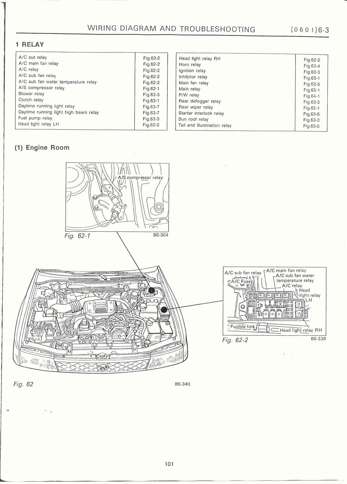 Subaru Forester Engine Diagram