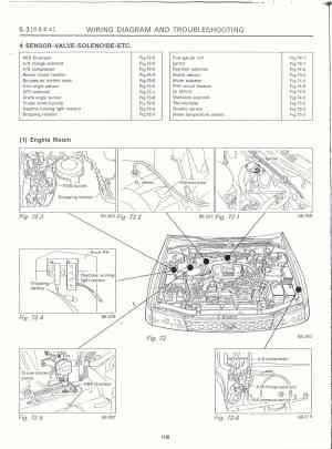 Surrealmirage  Subaru Legacy Swap Electrical info & notes