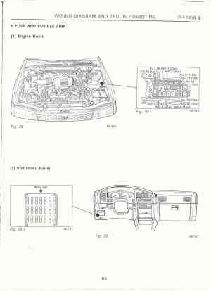 Subaru Baja Fuse Box Location   Wiring Library