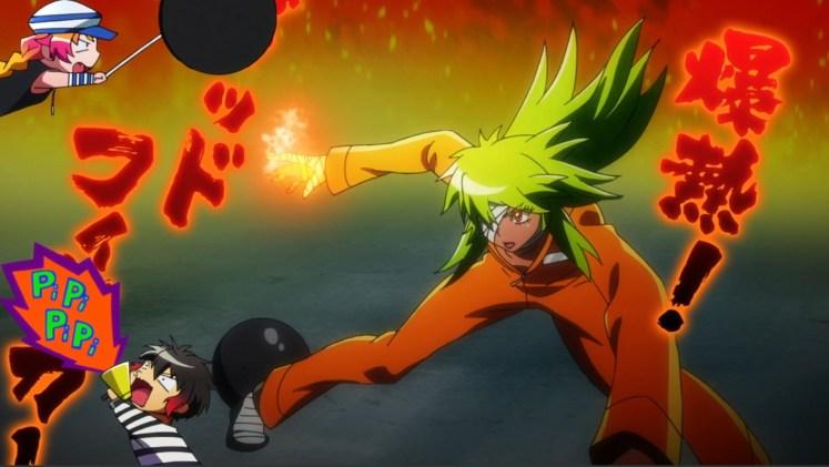 Nico has excellent taste in Gundam fighters - Domon Kasshu is tops.