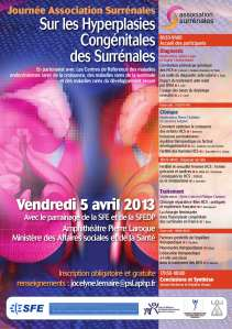 Journée Scientifique sur l'Hyperplasie Congénitale des Surrénales